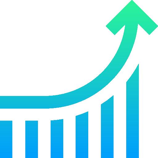 diagram növekedés